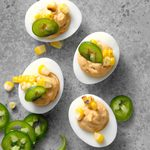 Slim Southwest Deviled Eggs