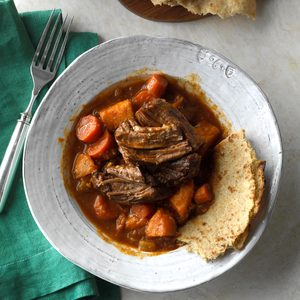 Slow-Cooked Caribbean Pot Roast