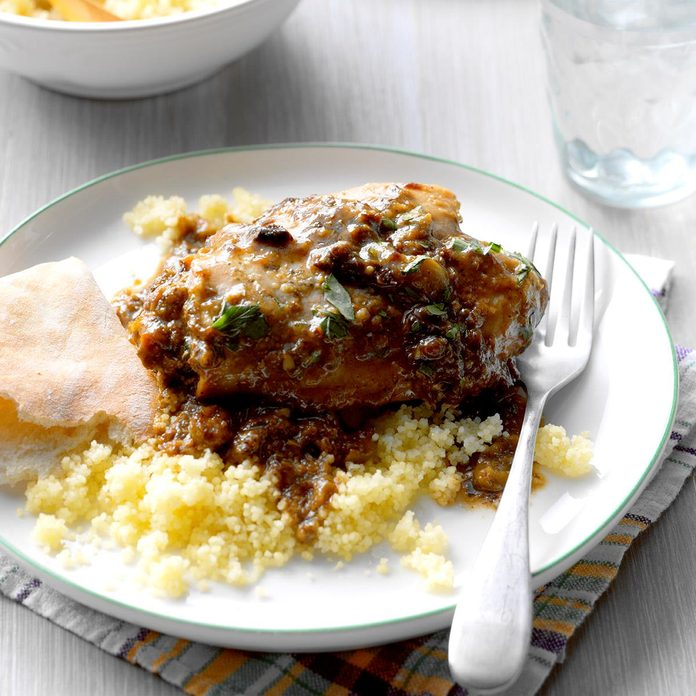 Slow-Cooked Chicken Marbella