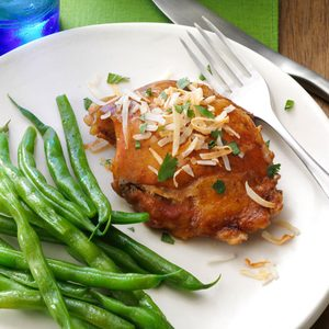 Slow-Cooked Coconut Chicken