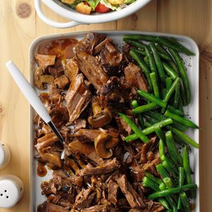 Slow-Cooked Coffee Beef Roast