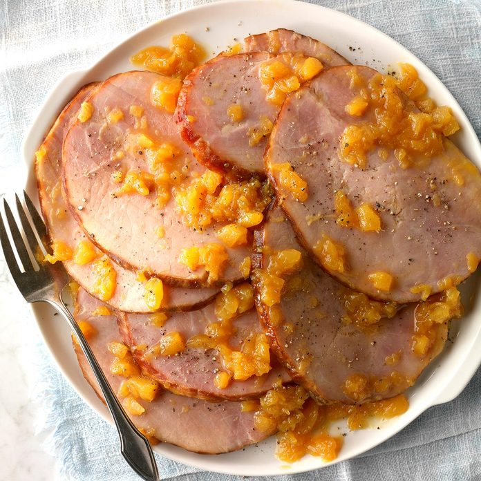 Slow Cooked Ham With Pineapple Sauce Exps  Hca18 94433 D11 02 6b 64
