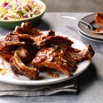 Slow-Cooked Mesquite Ribs