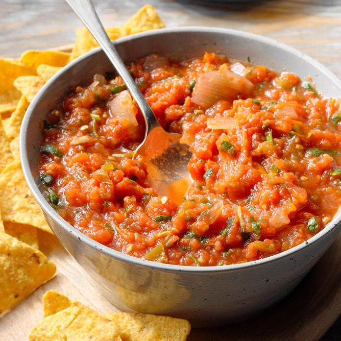 Slow-Cooked Salsa