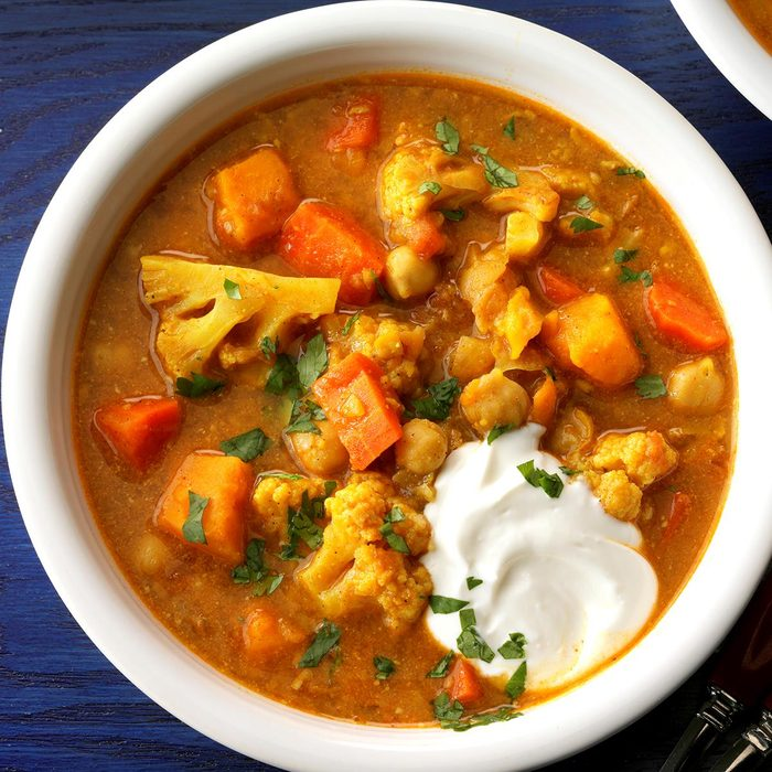 Day 9: Slow-Cooked Vegetable Curry