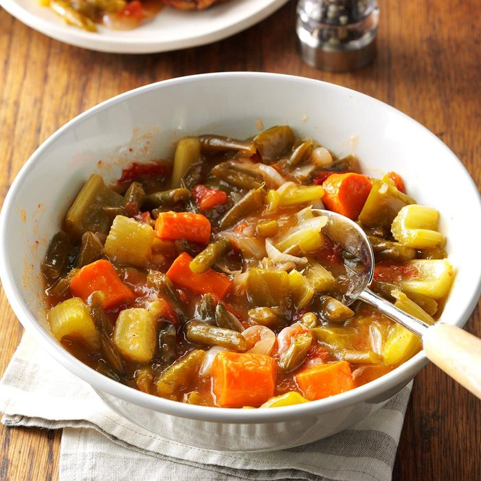 Slow-Cooked Vegetables