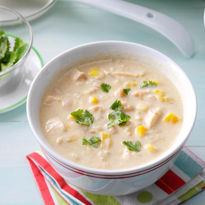 Slow-Cooked White Bean Chili