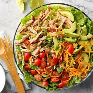 Slow-Cooker Chicken Taco Salad