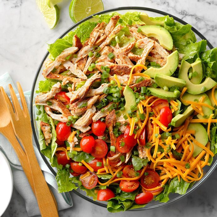 July 15: Slow-Cooker Chicken Taco Salad