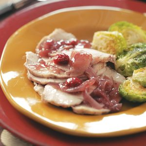 Slow Cooker Cranberry Sauce Pork Roast