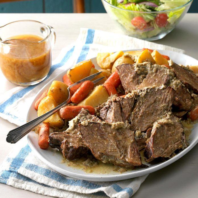 Slow-Cooker Faux Prime Rib Roast