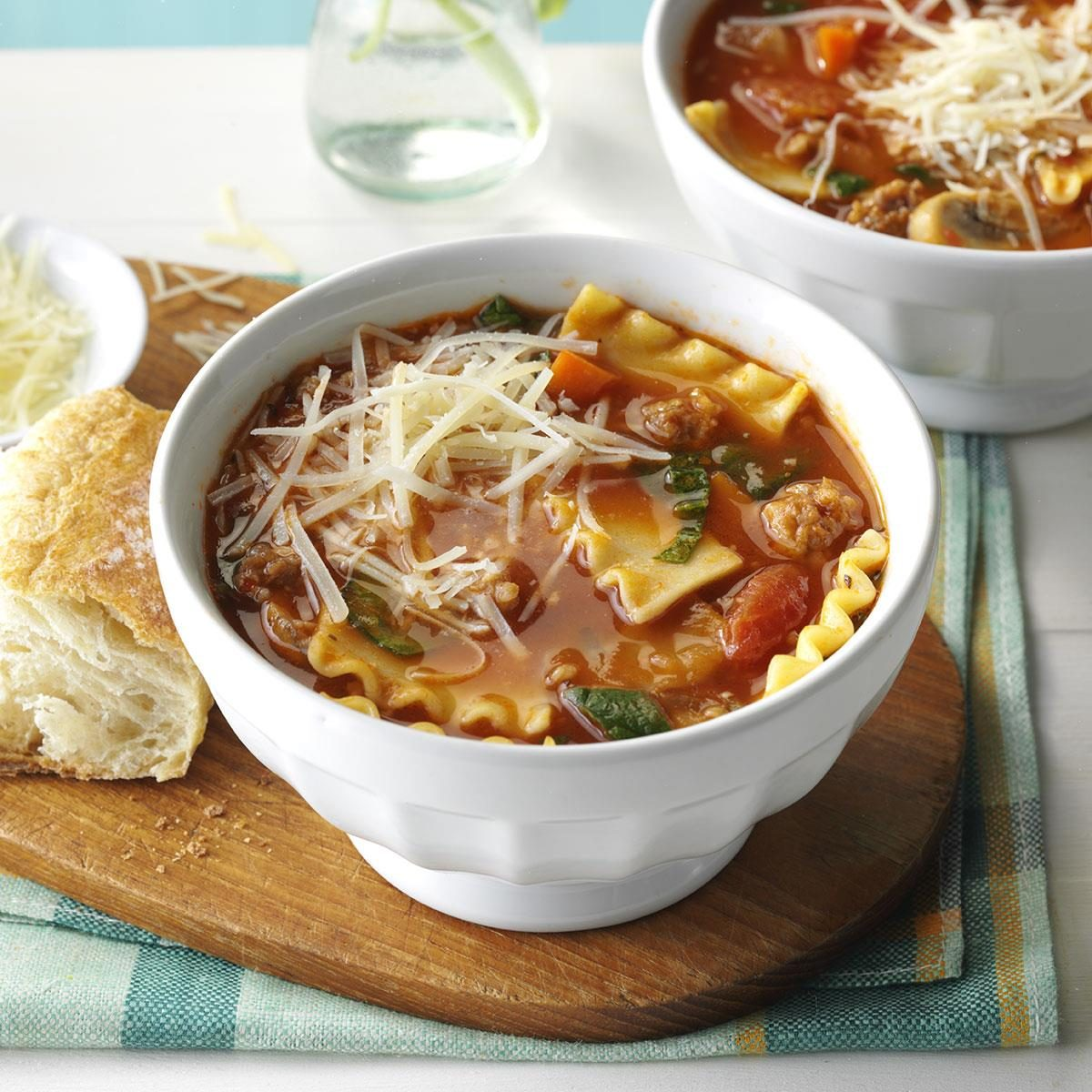 Day 23: Slow-Cooker Lasagna Soup