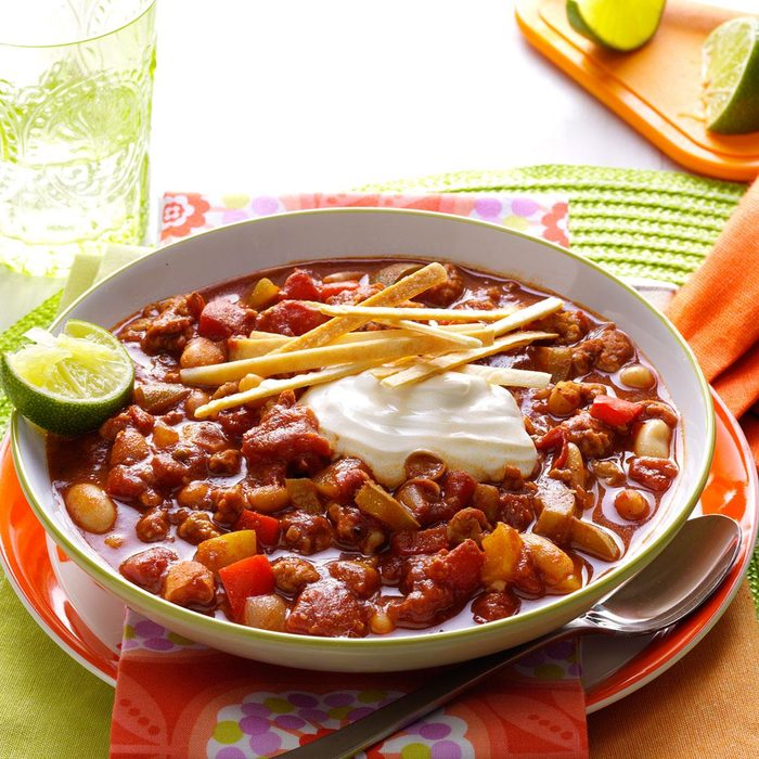 Day 25: Slow Cooker Lime Chicken Chili