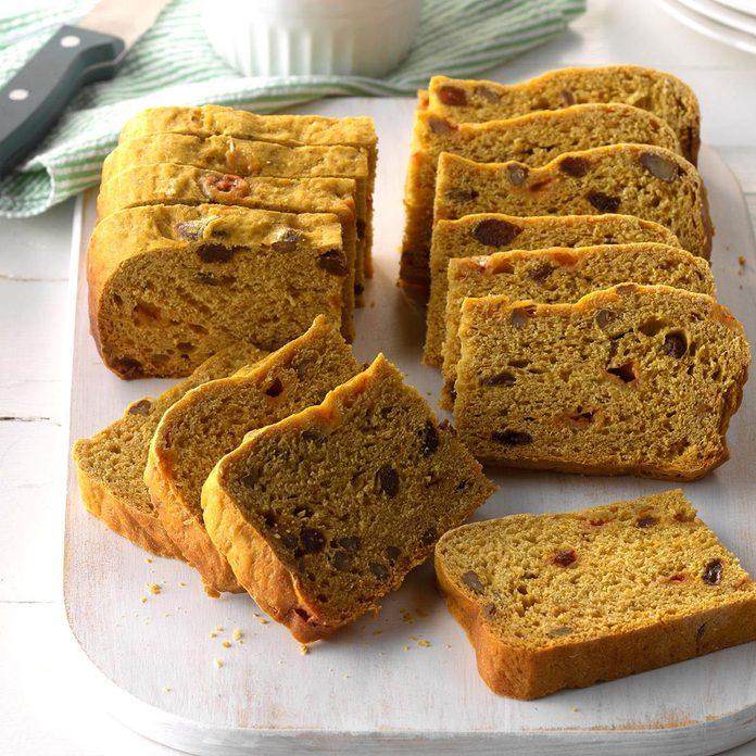 Slow Cooker Pumpkin Yeast Bread