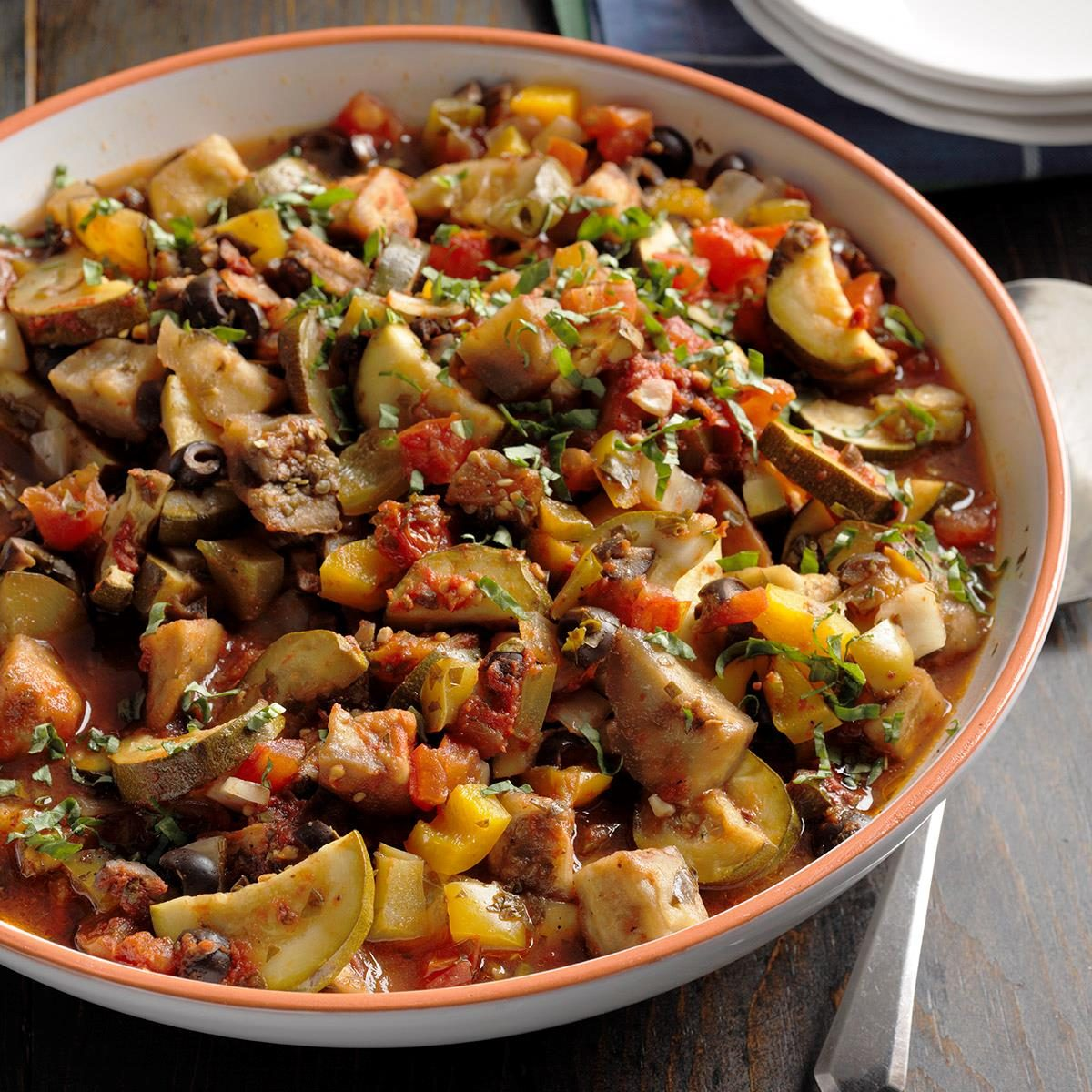 Day 12: Slow-Cooker Ratatouille