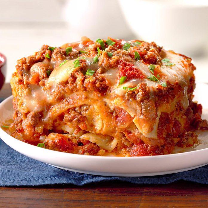Slow-Cooker Sausage Lasagna