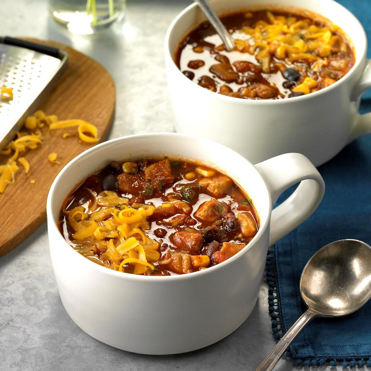 Slow-Cooker Spicy Pork Chili