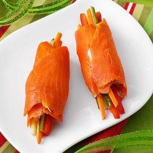 Smoked Salmon Roulades