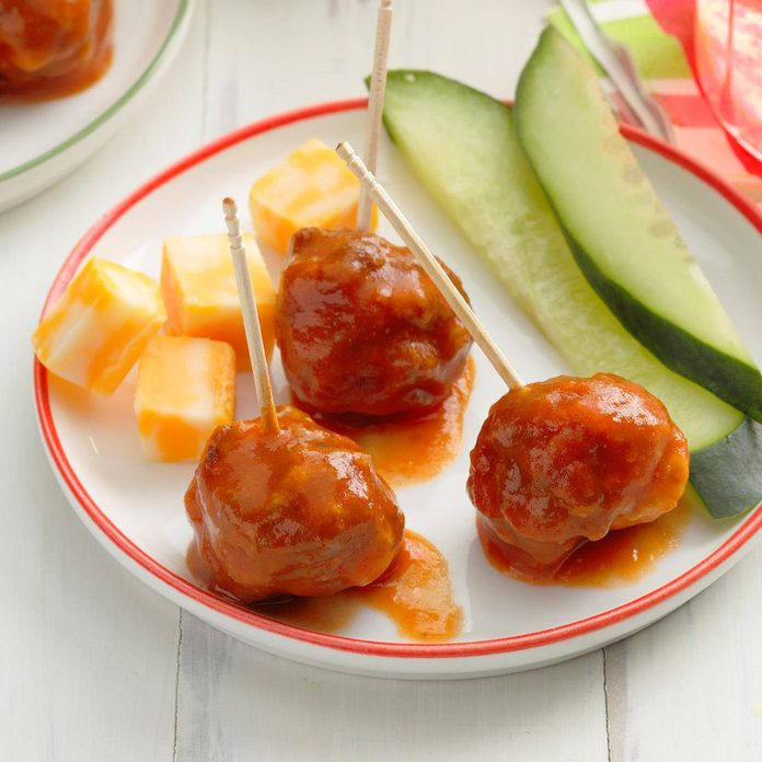 Snappy Cocktail Meatballs