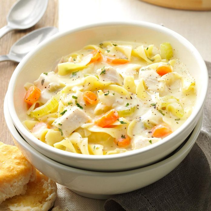 Day 26: Soupy Chicken Noodle Supper