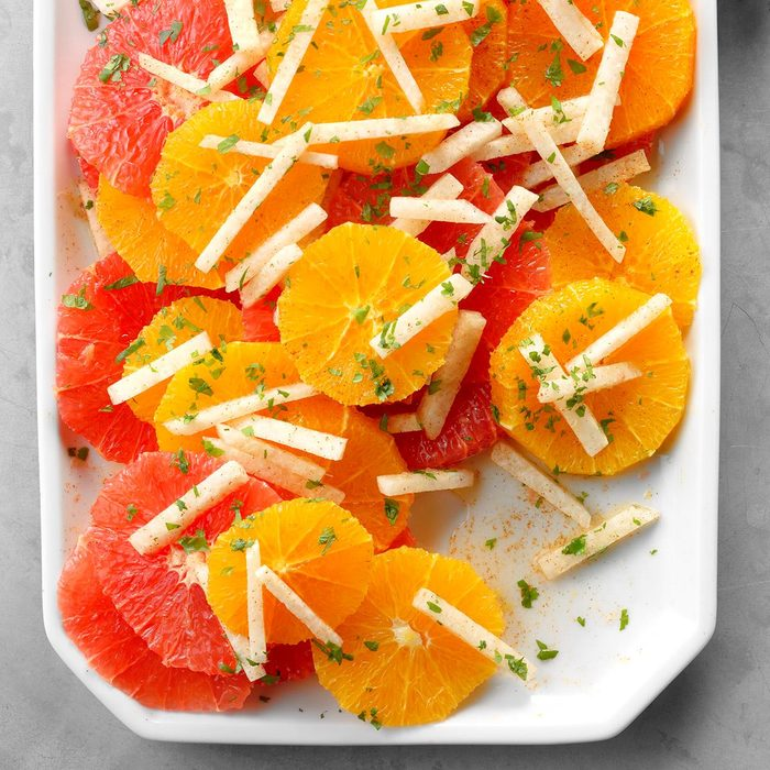 Day 8 Breakfast: South-of-the-Border Citrus Salad