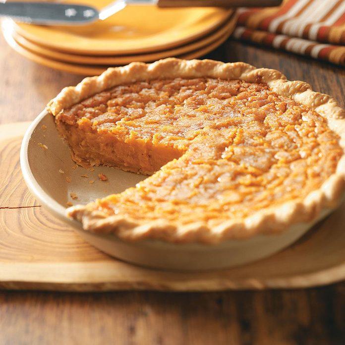 Inspired by: Sweet Potato Pie