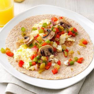 Southwest Breakfast Wraps