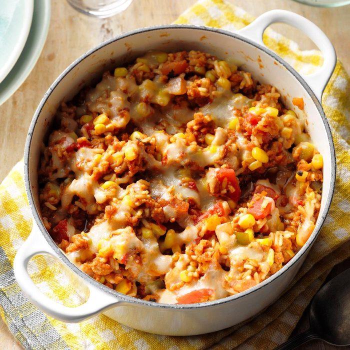 Southwestern Vegetables & Rice