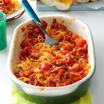 Spaghetti with Bacon