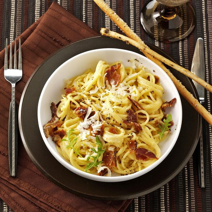 Spaghetti With Eggs And Bacon Exps2565 Rds2321842d04 14 1bc Rms 2