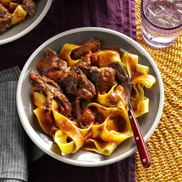 Spice-Braised Pot Roast