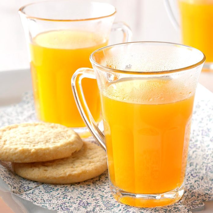 Spiced Apricot Cider