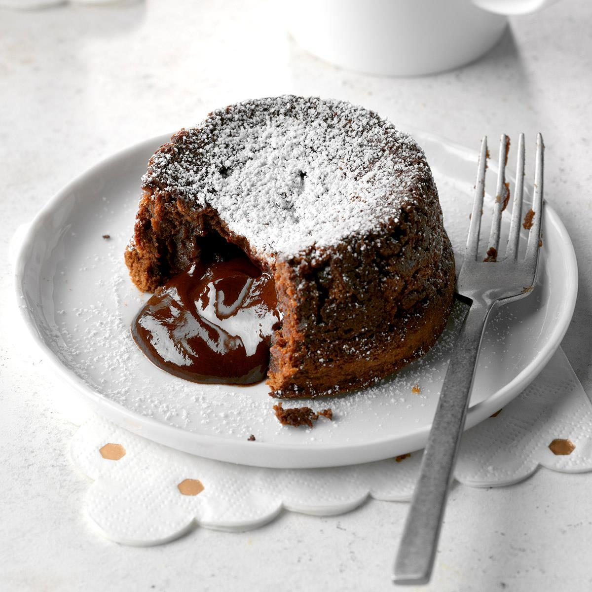 Spiced Chocolate Molten Cakes