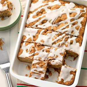 Spiced Rum and Pear Cake