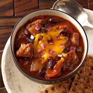 Spicy Chipotle-Black Bean Chili