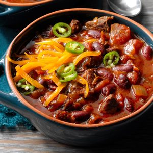 Spicy Cowboy Chili
