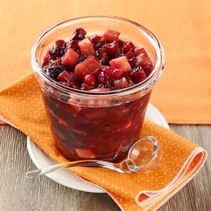 Spicy Cran-Apple Sauce