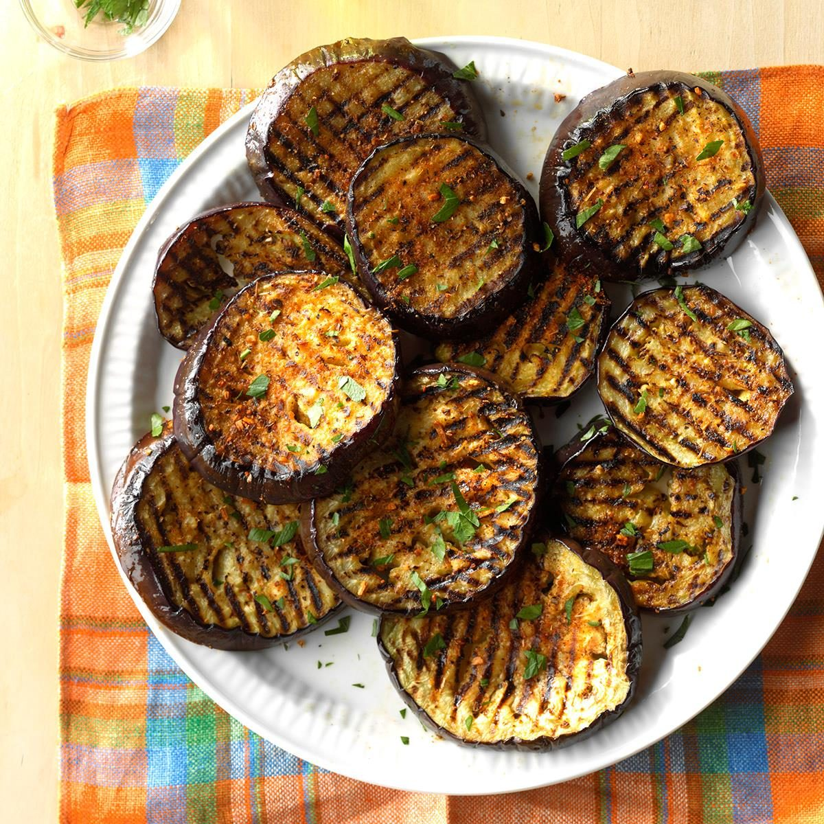 Spicy Grilled Eggplant