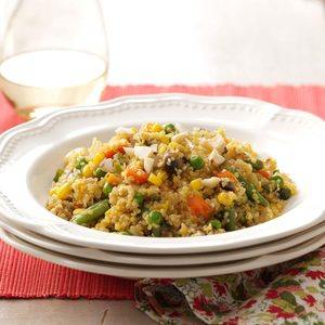 Spicy Orange Quinoa