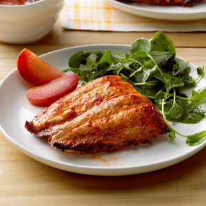 Spicy Plum Salmon