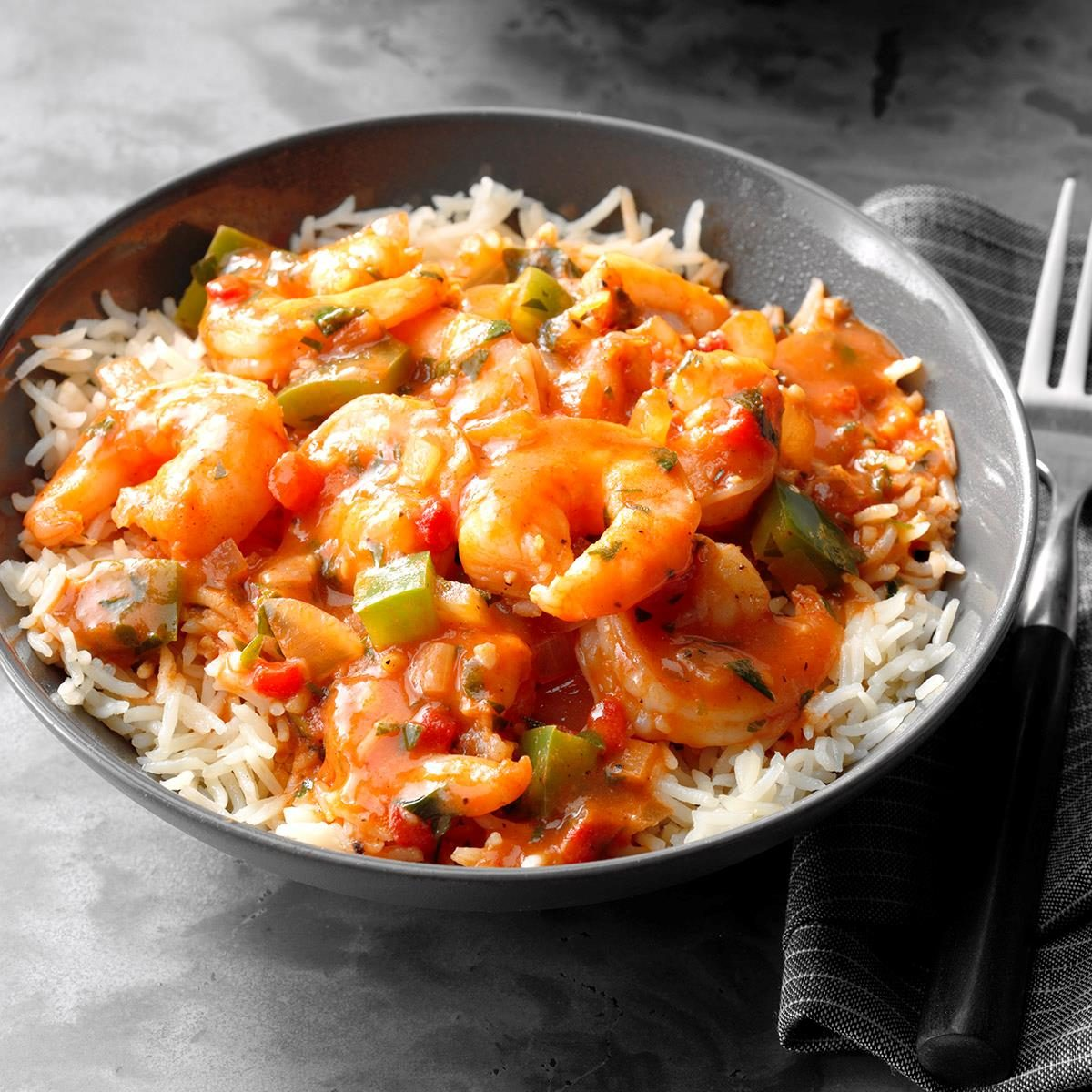 Day 23: Spicy Shrimp with Rice