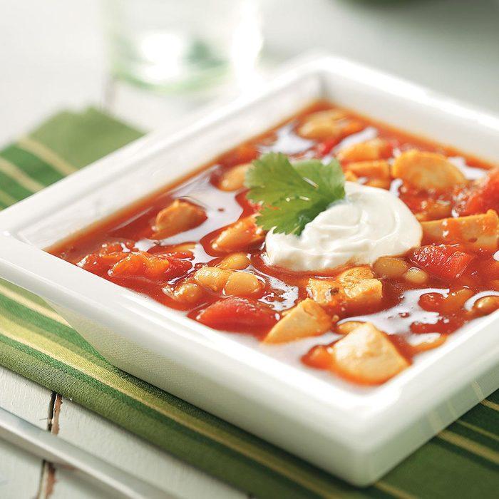 Spicy Turkey Bean Soup