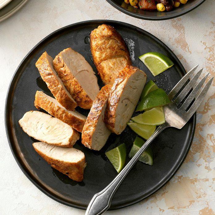 Spicy Turkey Tenderloin