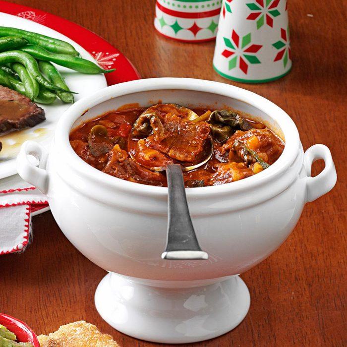 Spinach Beef Stew