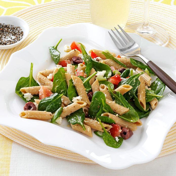 Spinach Penne Salad Exps126764 Th2377560a03 01 3bc Rms 2
