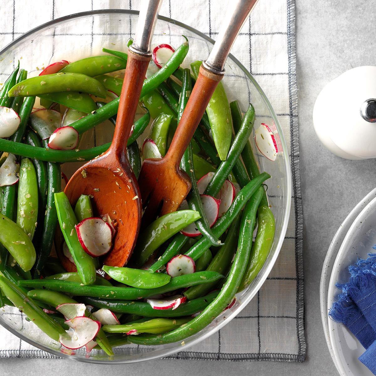 New Hampshire: Spring Pea & Radish Salad
