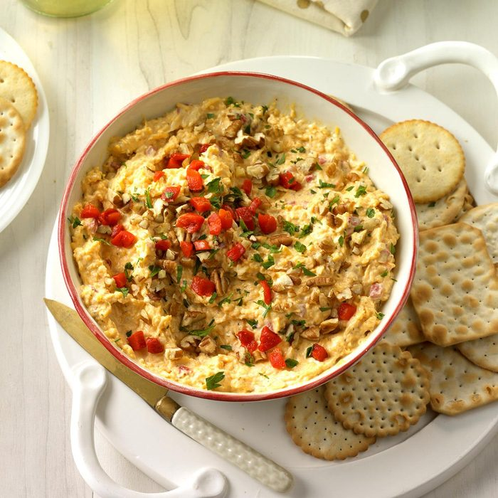 Spruced-Up Cheese Spread
