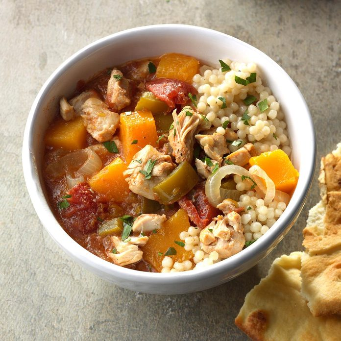 Squash & Chicken Stew