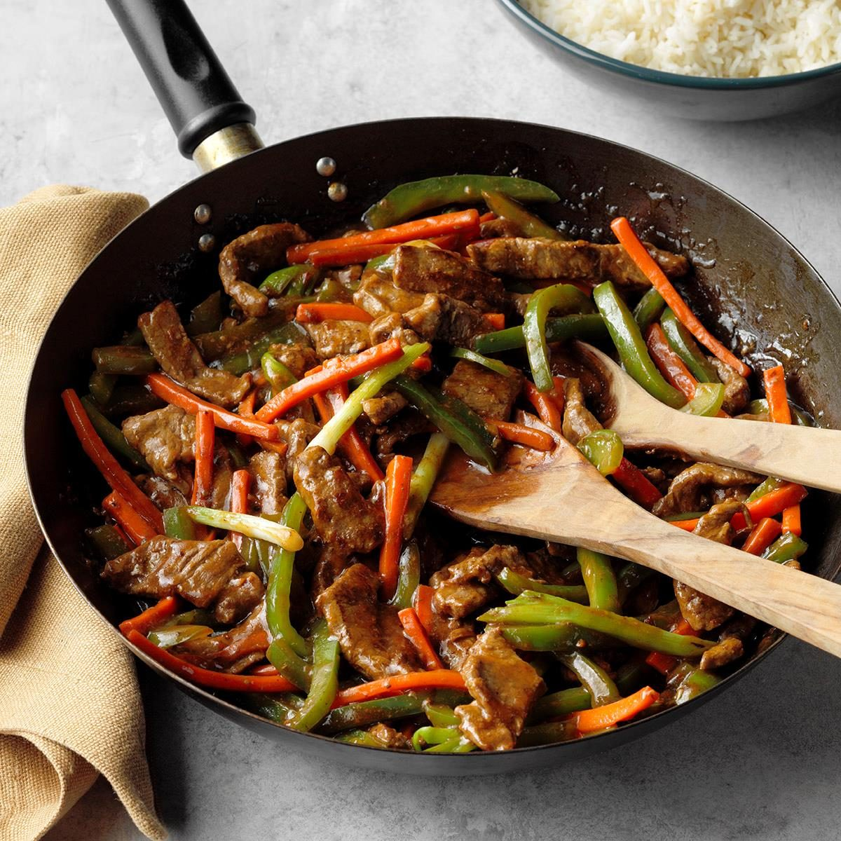 Friday: Steak Stir-Fry