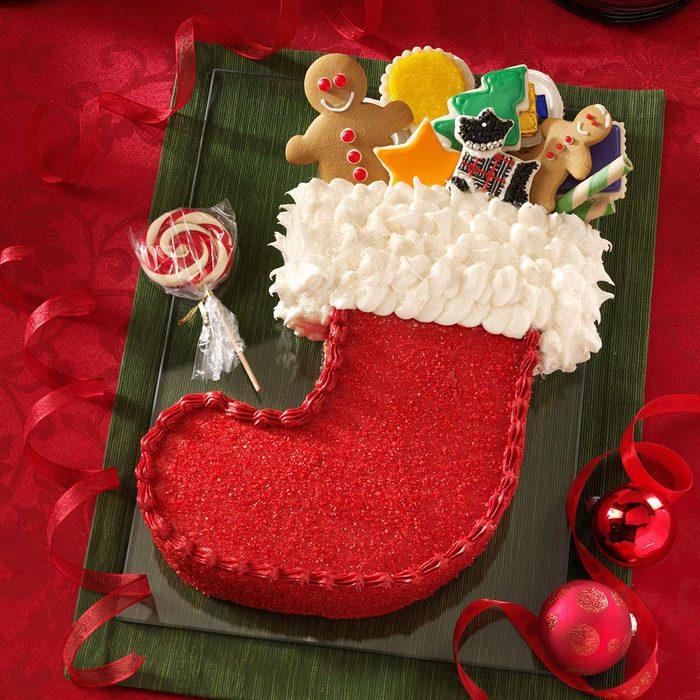 Stocking Cake